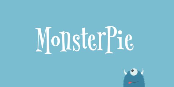 Font dňa – MonsterPie
