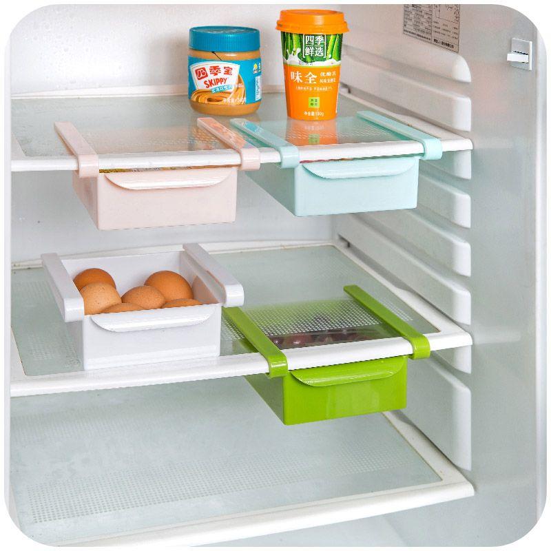 fridge organizer refrigerator freezer storage tray kitchen