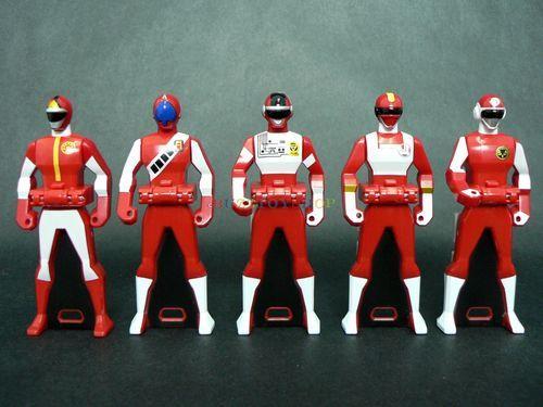 5pcs Power Rangers Superhero Kids Model Figures Display Figurines Play Toy Gifts