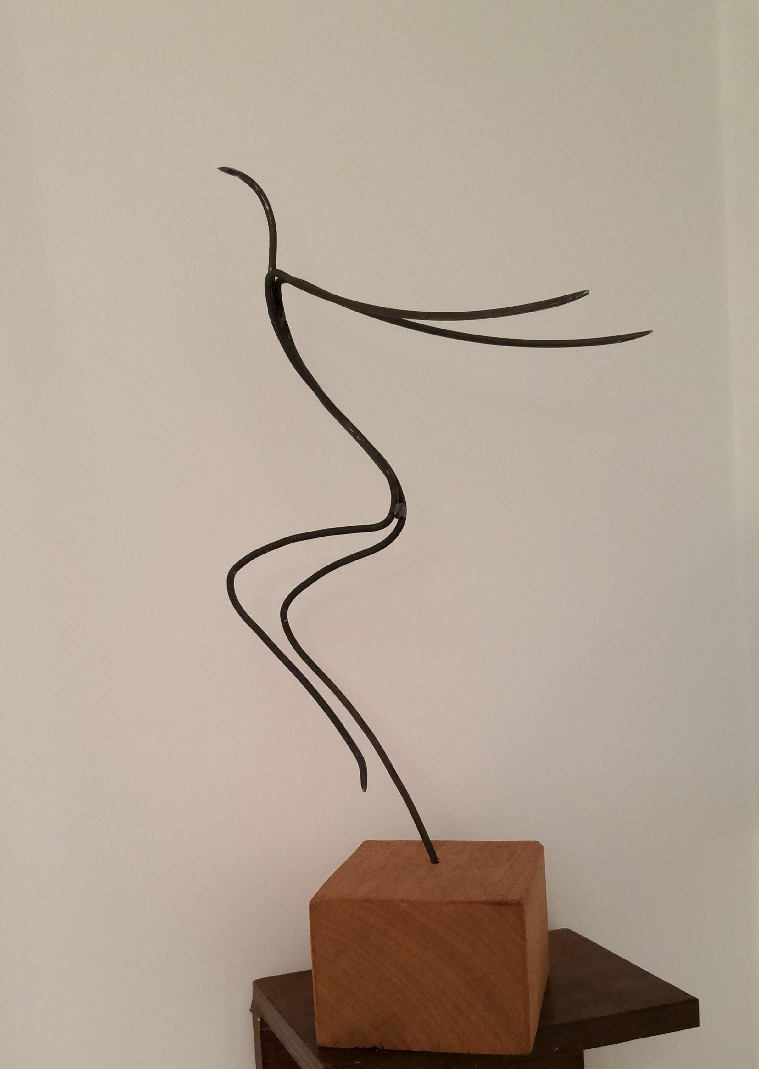 bird dancing | Metal işler | Pinterest | Skulptur, Metall und Holz
