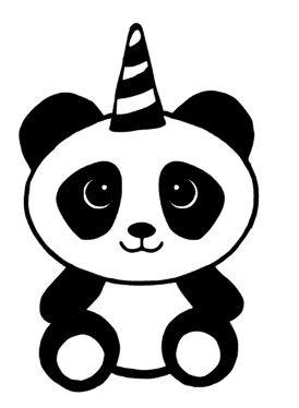 Pandacorn Panda Birthday Party Panda Birthday Panda Party