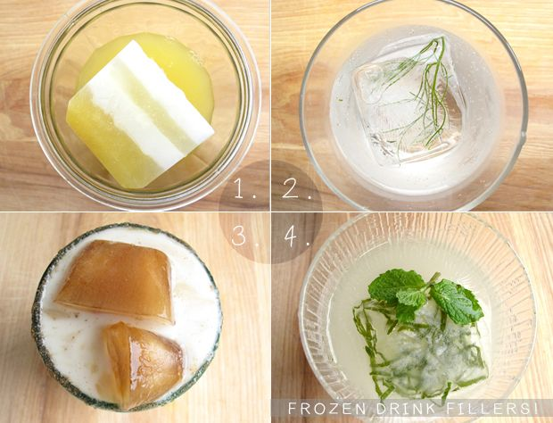Ice Cubism! recipes by Caitlin Levin