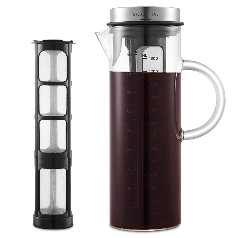SILBERTHAL Kaffeebereiter Cold Brew Coffee Maker für