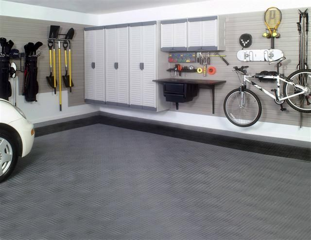Garage Interior Design Ideas for Modern Workshop Garage: Garage ...