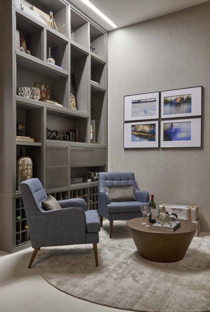 Pin de ilumine pacem diliges en sala de estar e ambientes for Sala de estar oficina