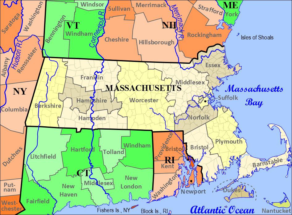 FamilySearch Wiki Massachusetts #genealogy   Massachusetts