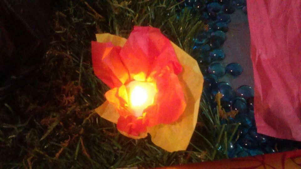 Mine craft torch