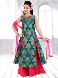 Shop Blue beige silk indo western style lehenga choli online from G3fashion India. Brand - G3, Product code - G3-GCS0455, Price - 3695, Color - Beige, Blue, Fabric - Silk,