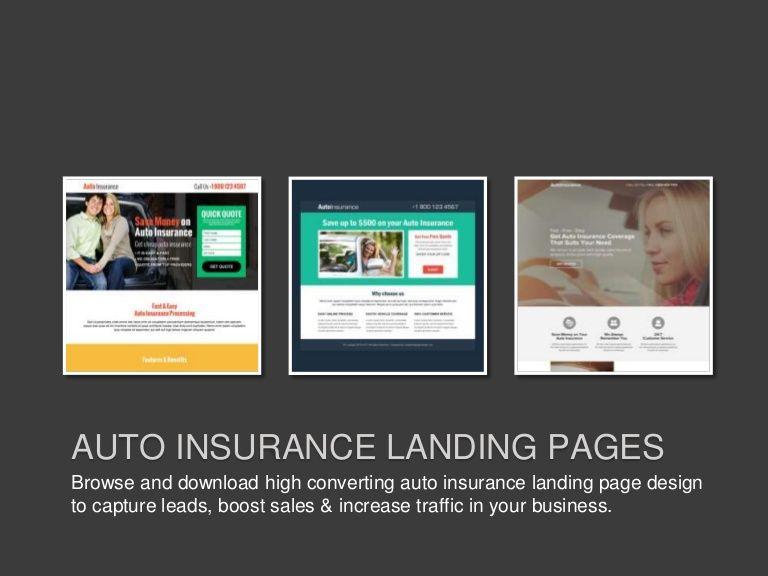 Download professionally designed auto insurance lead