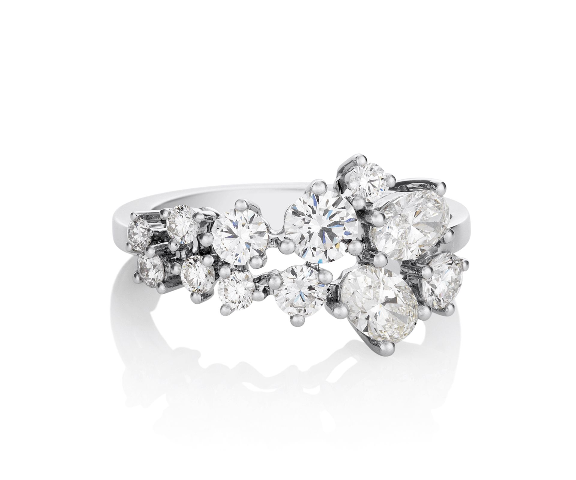 Debeers cluster ring my style pinterest rings jewelry and