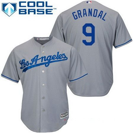 b2900b2c5 ... world series patch majestic flex base mlb jersey mlb jerseys pinterest  dodgers  los angeles dodgers 9 yasmani grandal gray road stitched mlb  majestic ...
