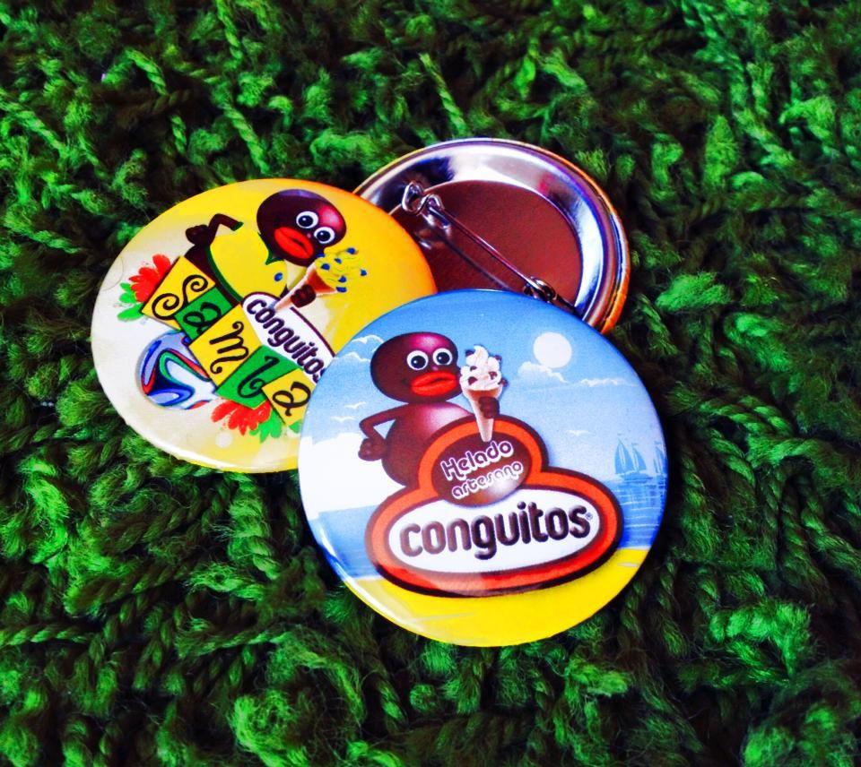 Chapas personalizadas para Conguitos