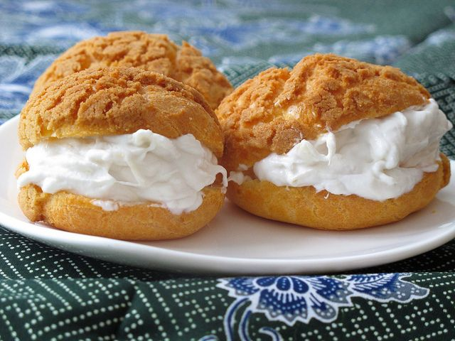 Choux with durian cream by Nasi Lemak Lover (http://nasilemaklover.blogspot.c, via Flickr