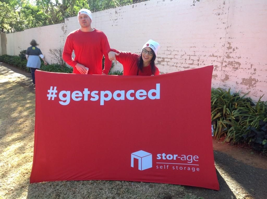 Stor-Age Supports Discovery 702 Walk The Talk - http://bit.ly
