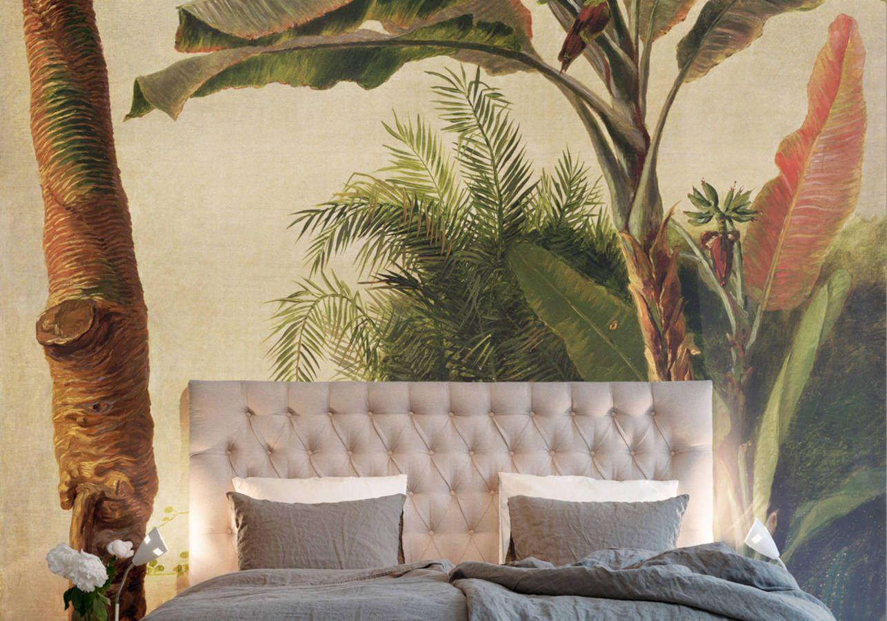 notre s lection de papiers peints pour une chambre tendance elle d coration papiers peints. Black Bedroom Furniture Sets. Home Design Ideas