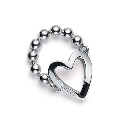 Gucci Heart ring in silver GWtGAzewuL
