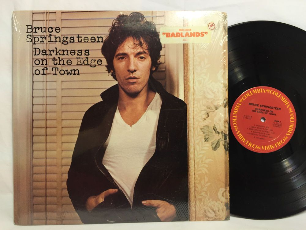 Bruce Springsteen Darkness On The Edge Of Town Cbs 86061 Lp Vinyl Record Bruce Springsteen Vinyl Records Lp Vinyl