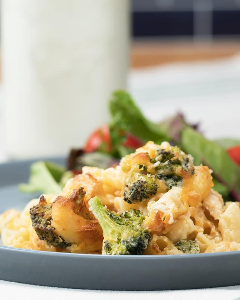 Broccoli And Chicken Mac N Cheese  Food  Recipes, Milk -3987