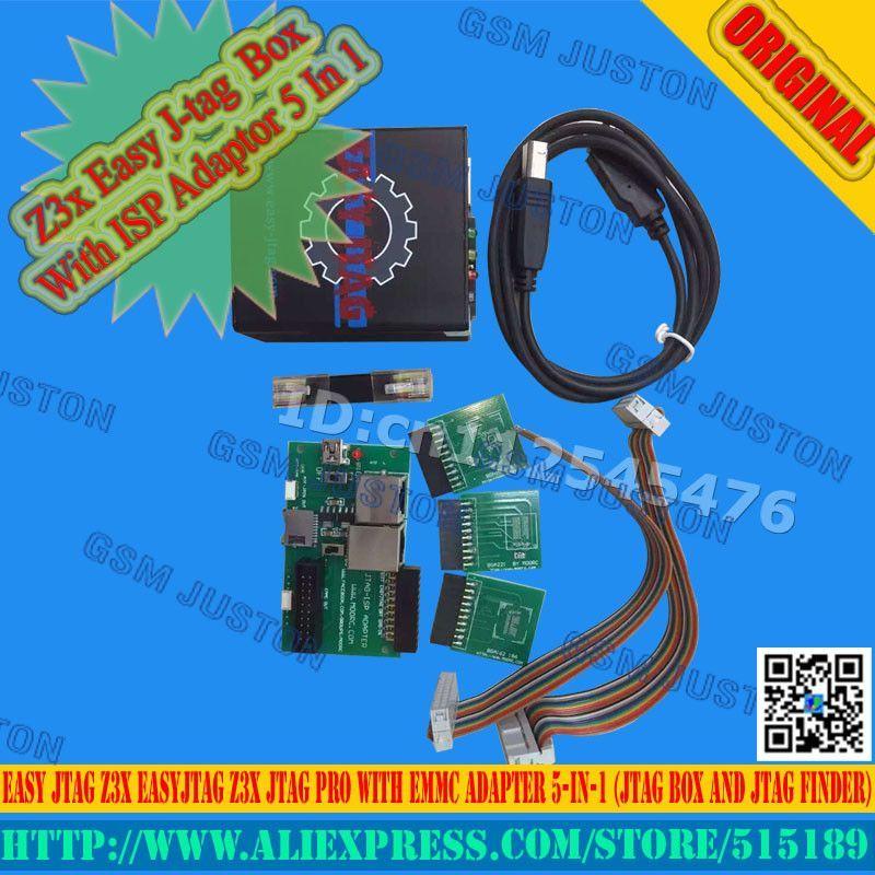 Z3x Easy J-tag Box easy jtag z3x box With ISP Adaptor 5 In 1
