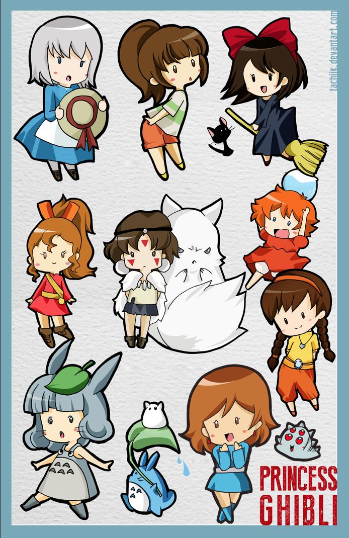 Ghibli Princess by tachiik on ...