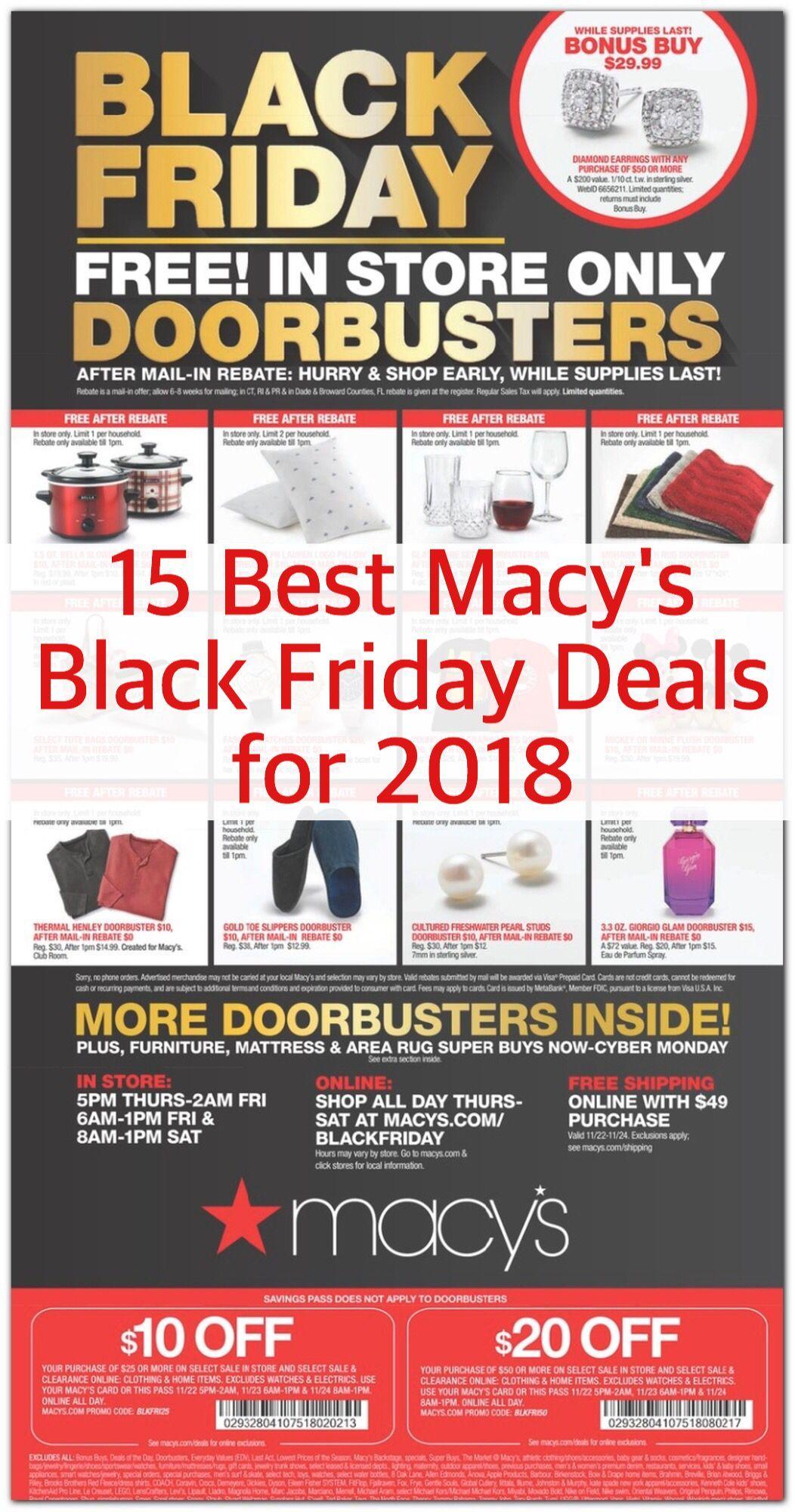 15 Best Macy S Black Friday Deals For 2018 Bradsdeals Macys Macysale Macysblackfriday Macysdeals Black Macys Black Friday Black Friday Deals Black Friday
