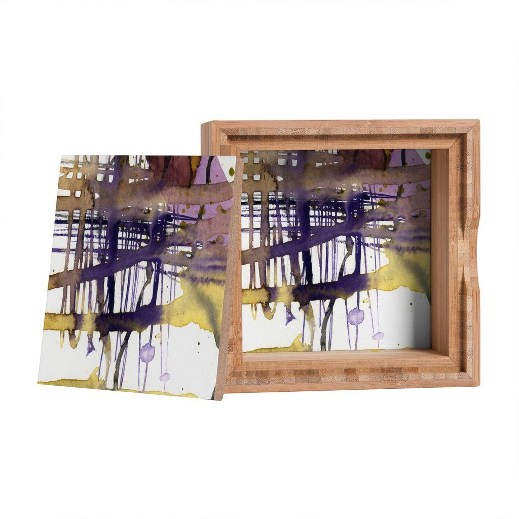 Ginette Fine Art Molten Maze Jewelry Box | DENY Designs Home Accessories #Abstract @denydesigns Designs #Homedecor #homeaccessories @ginettefineart Fine Art