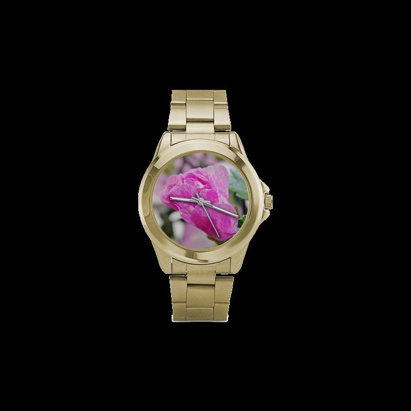 Musk Mallow Custom Gilt Watch