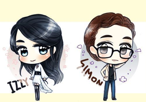 Simon Lewis Isabelle Lightwood by LostGirl0 on DeviantArt |Isabelle Lightwood And Simon Lewis Fan Art