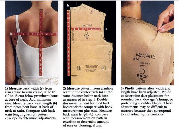back measurement