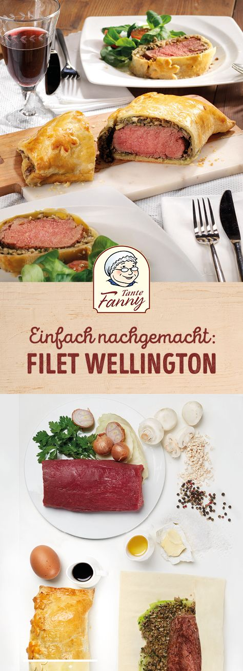Klassisches Filet Wellington #beefbake
