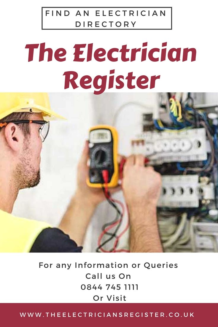 Find An Electrician >> The Electricians Register Is An Acclaimed Business Directory Where