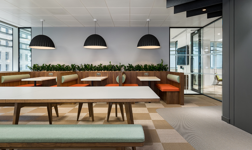 A Look Inside Private Global Equity Investment Firm Offices in London | Investment  firms, Design firms, Workplace design