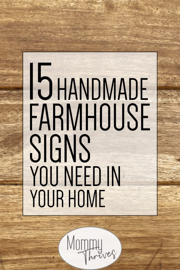 15 Best Handmade Farmhouse Signs Farmhouse Signs Farmhouse Kitchen Signs Sign Quotes