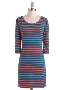 $47.99 Say Yes to Stripes Dress, #ModCloth