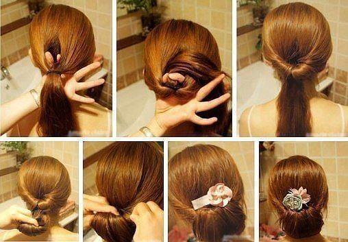 peinado fcil para el da - Peinado Facil