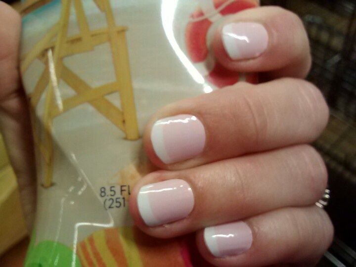Finally a French Manicure that doesn\'t cost a fortune.http ...