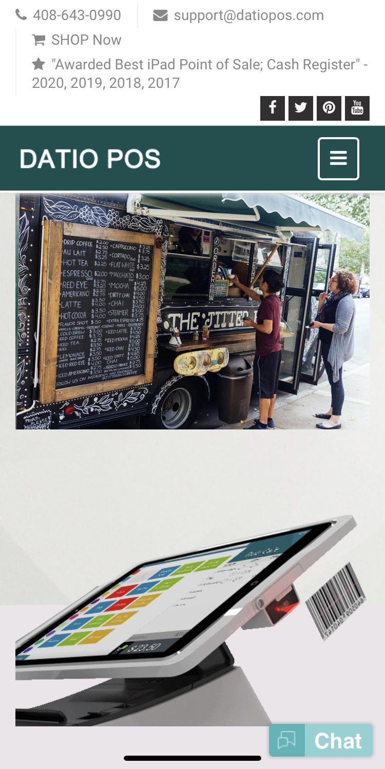 Food truck ipad pos ipad point of sale for food trucks