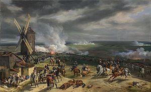 Valmyn taistelu 1792. Horace Vernet'n maalaus vuodelta 1826.