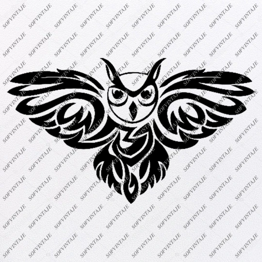 Photo of Owl Svg File – Owl Tattoo Svg Design-Clipart-Animals Svg File-Animals Png-Vector Graphics -Svg For Cricut-For Silhouette – SVG – EPS – PDF – DXF – PNG – JPG – AI