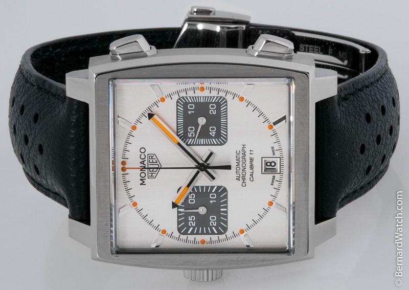 TAG Heuer - Monaco Chronograph : CAW211C.FC6241