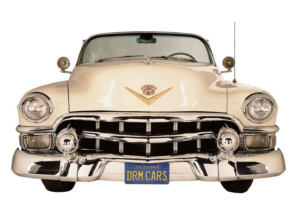 Pin on Cadillac Eldorado 1953