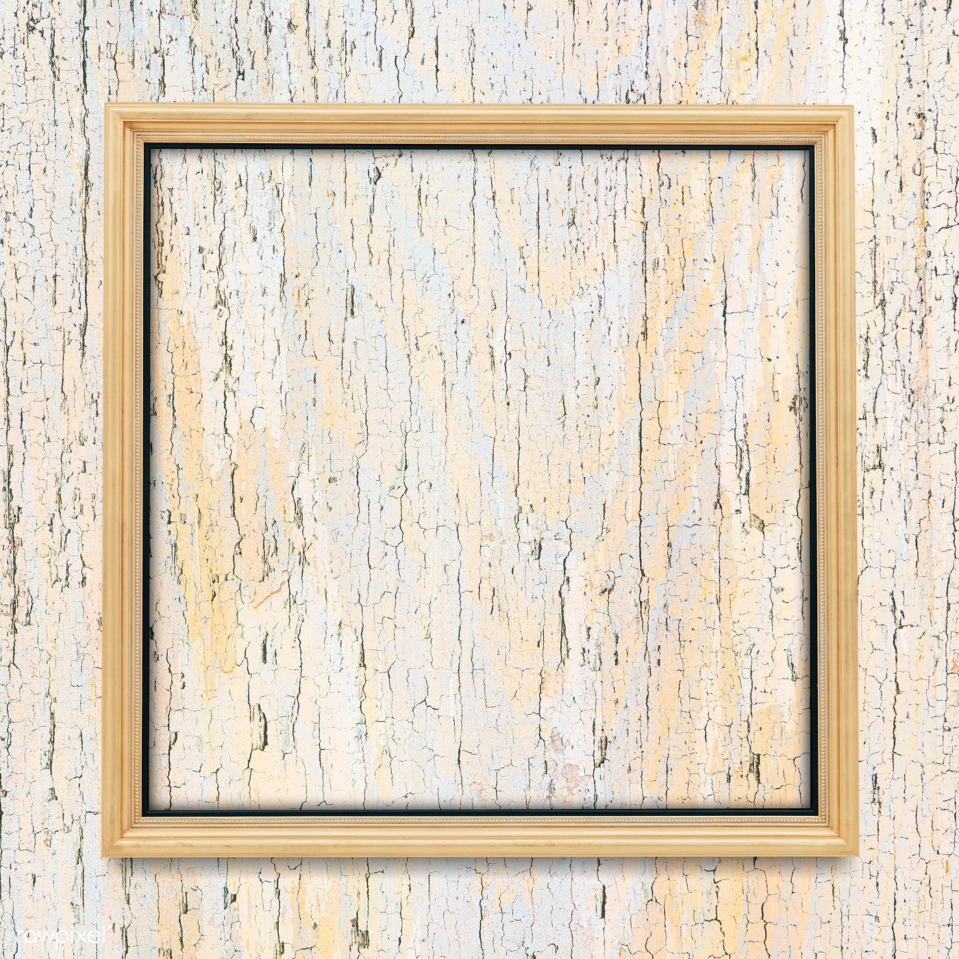 Square Frame On Plain Wooden Texture Background Premium Image By Rawpixel Com Manotang ในป 2020