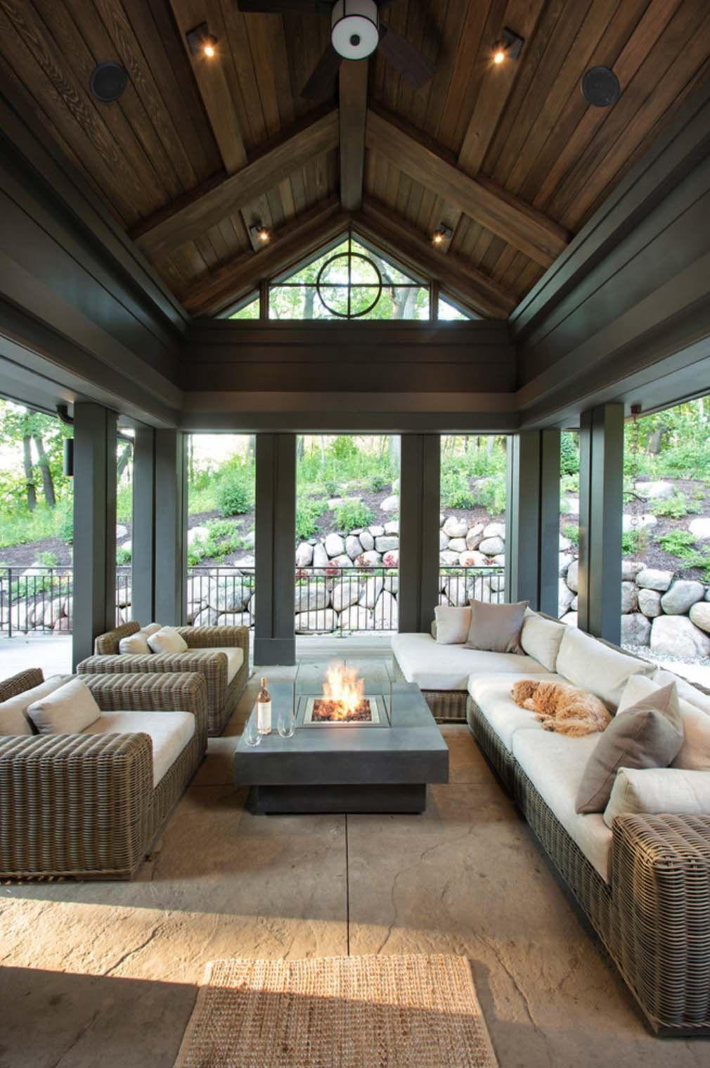 Screened Porch Design Ideas 23 1 Kindesign Porch Design House Design My Dream Home