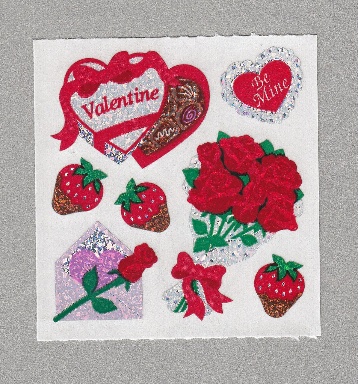Sandylion+Valentine+Stickers+Rare+Vintage+PM903 ...