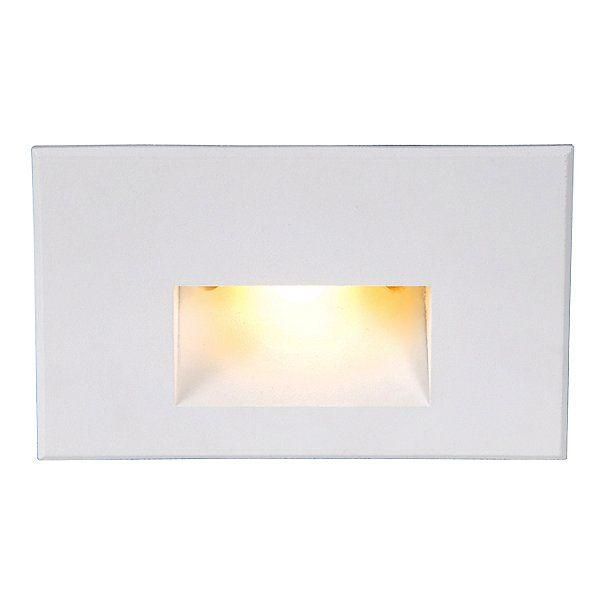 Landscape Lighting Led Horizontal Step Light In 2020 Landscape Lighting Lighting Glass Diffuser