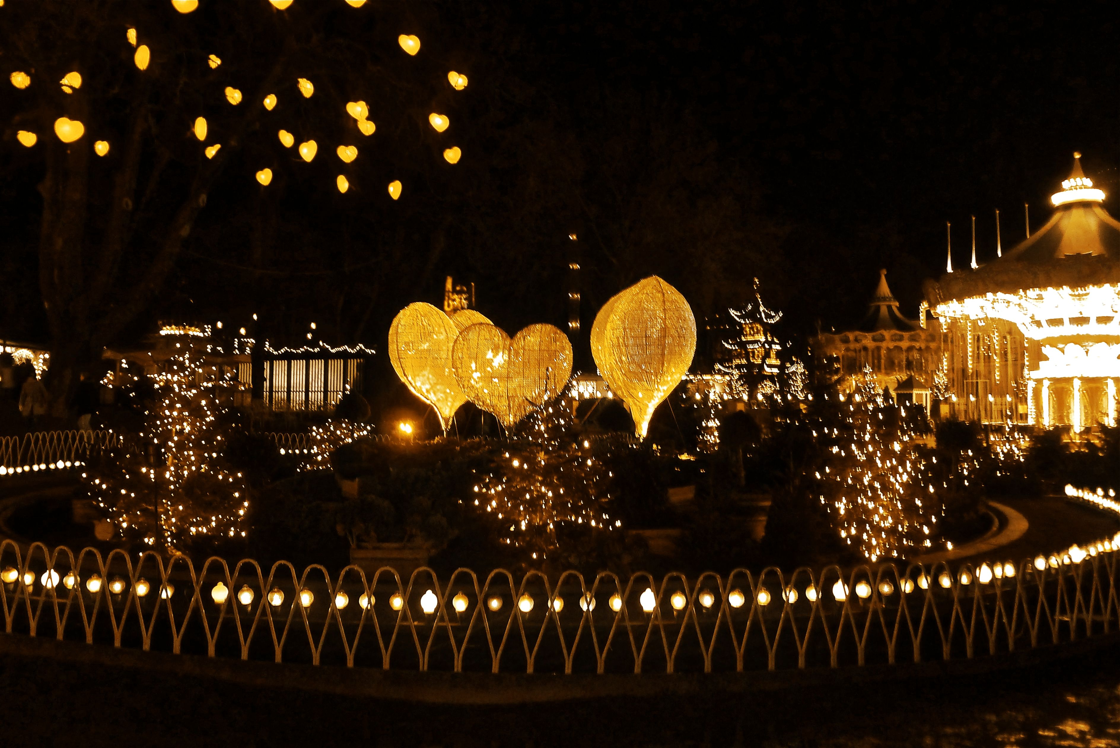 TIVOLI at Christmas- Copenhagen, Denmark