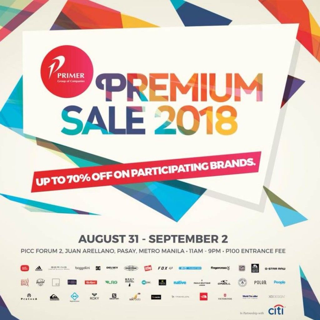 Primer Group Of Companies Premium Brands Sale 2018 Proud Kuripot Premium Brands Brand Sale Primer