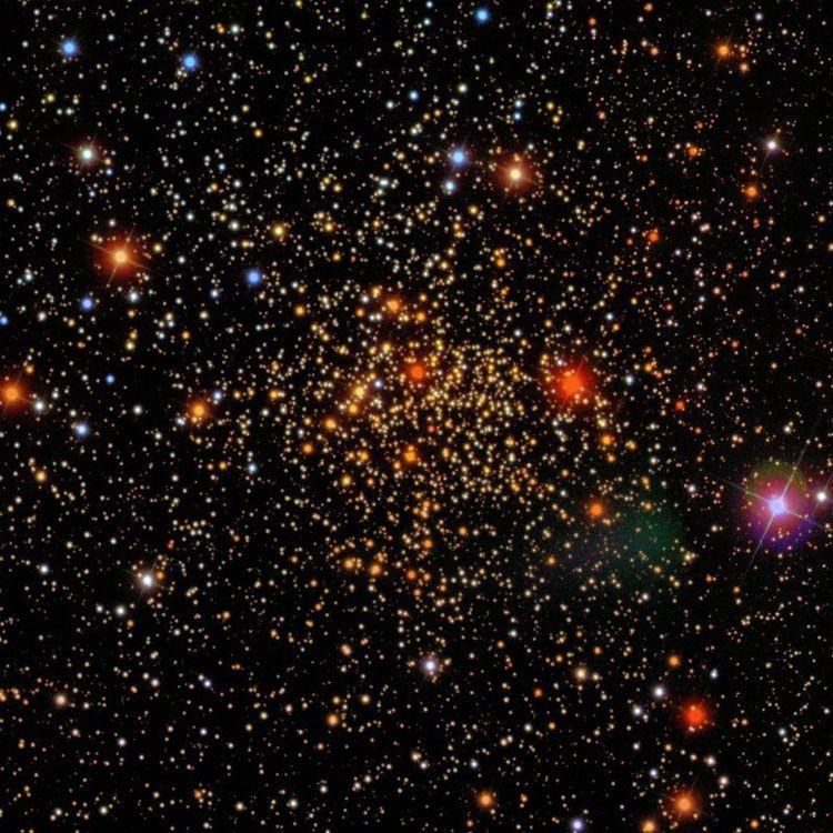 Resultado de imagen de cúmulo abierto conocido como IC 166