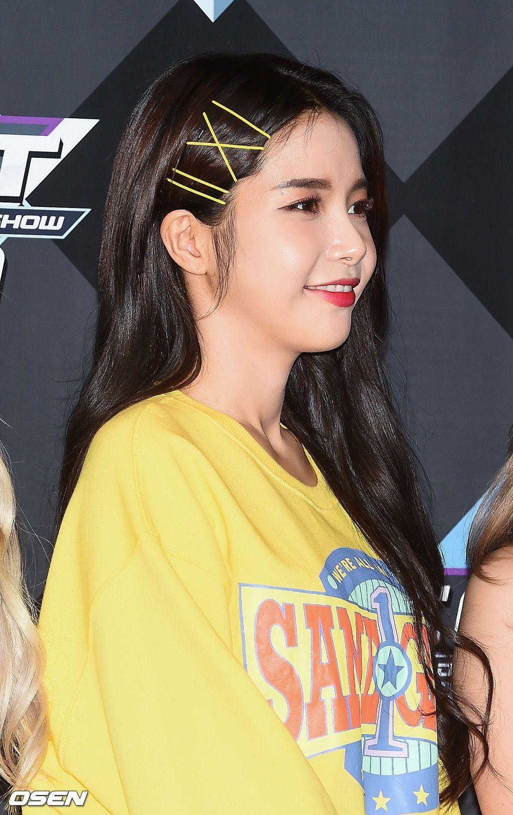 Fy Solar Solar Mamamoo Kpop Hair Clip Hairstyles