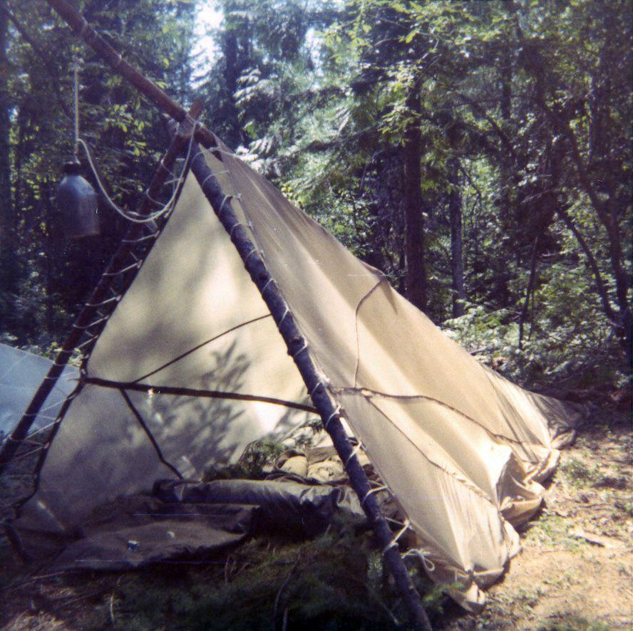 Dale Compton - Parachute tent, Fairchild AFB